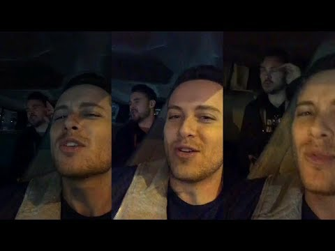 Jesse Lee Soffer and Patrick John Flueger singing  Instagram Story Videos  January 31 2018