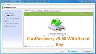 CardRecovery v3.60 Build 1012 With Serial Key Free Download