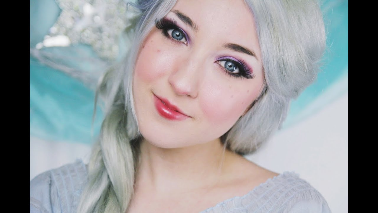 Disneys Frozen Elsa Makeup Tutorial Youtube