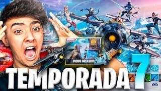 ¡REACCIONANDO A LA TEMPORADA 7 y SUBIENDO A NIVEL 100! - Agustin51