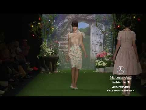 LENA HOSCHEK   Mercedes Benz Fashion Week Berlin S S 2014 Collections