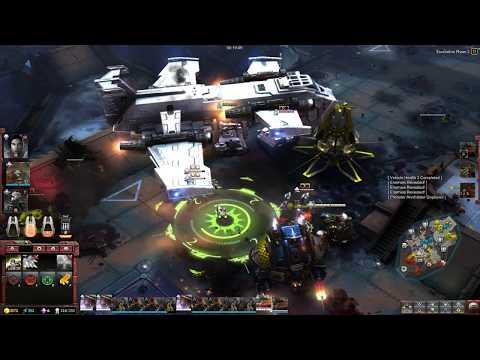 Warhammer 40k  Dawn of War 3 - Space Marines vs Orks, Hard AI