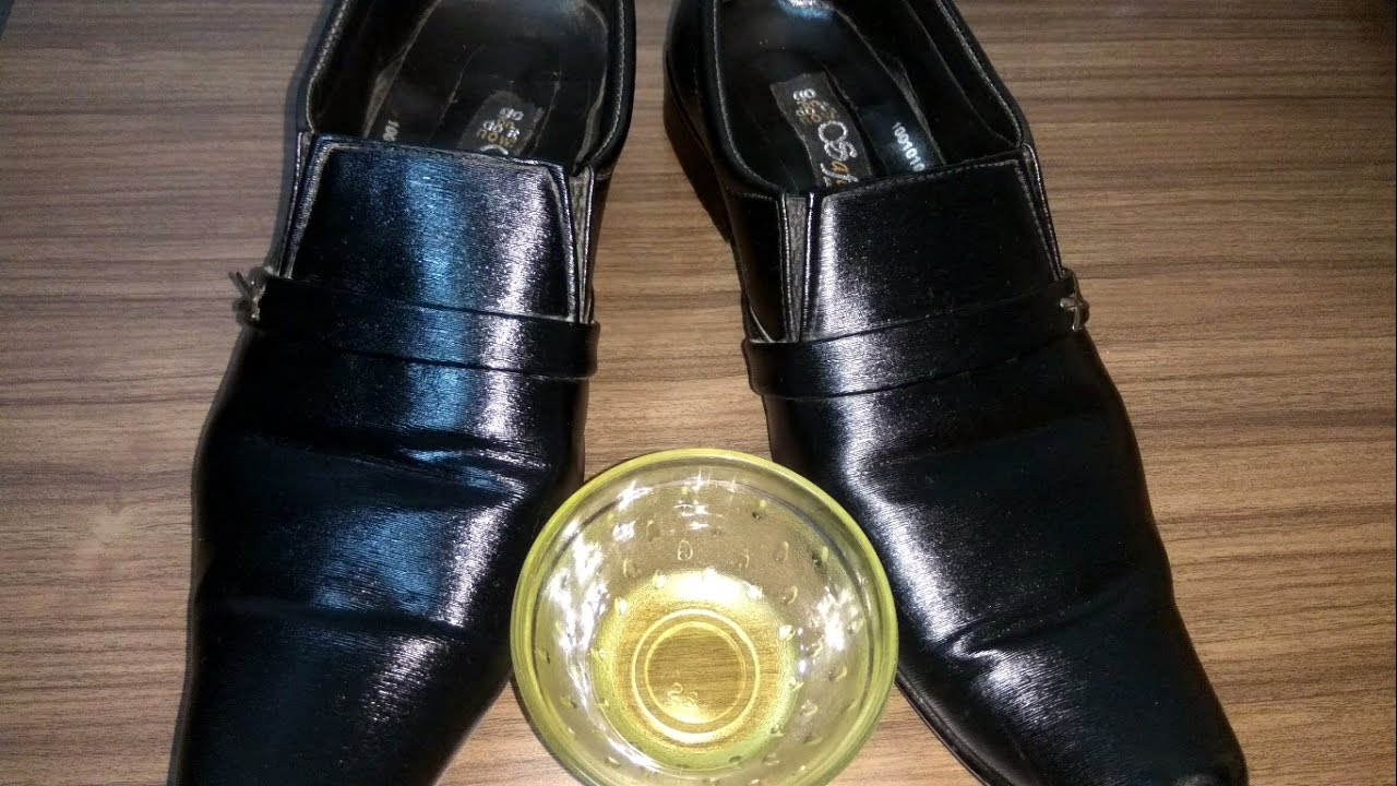 No need of Shoe Polish , Just try this