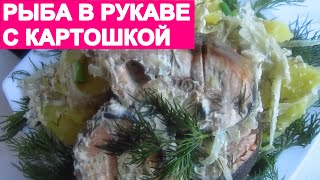 РЫБА В РУКАВЕ. Быстро, просто и вкусно! fish is in a sleeve