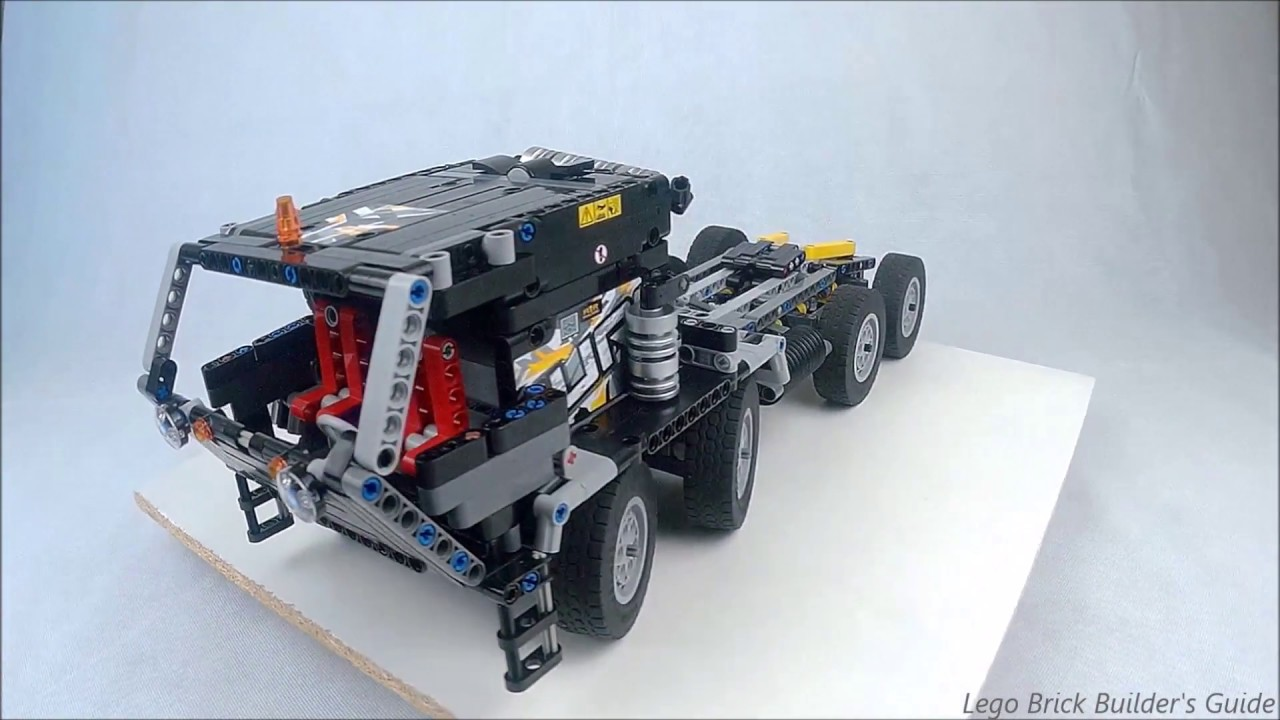 lego technic rc hemtt m983 tractor moc youtube. Black Bedroom Furniture Sets. Home Design Ideas