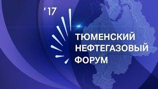 Тюменский нефтегазовый форум 2017. Модернизация ТЭК: инновации и инвестиции: прямая трансляция