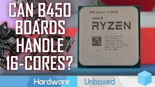 Ryzen 9 3950X on Good & Bad B450 Motherboards