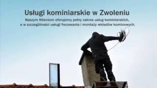 Kominiarz frezowanie kominów Zwoleń Tyburski Wojciech