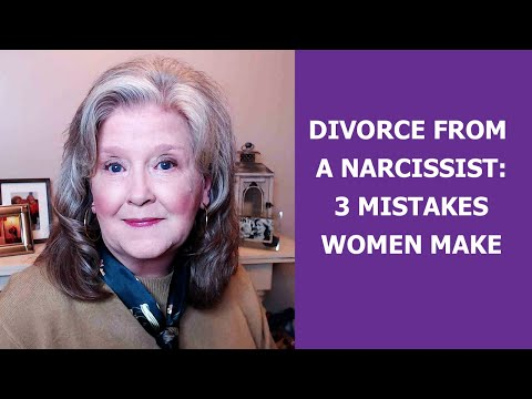 Video: The Aftermath Of Divorce From a Narcissist: 3 Mistakes Women Make