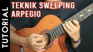 Belajar Teknik Gitar Sweeping Arpegio