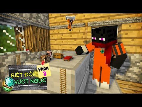 Minecraft Biệt Đội Vượt Ngục (Phần 3) #8- CĂN PHÒNG KHỔNG LỒ VÀ JAKI TÍ HON 👮♂️ vs 🏠
