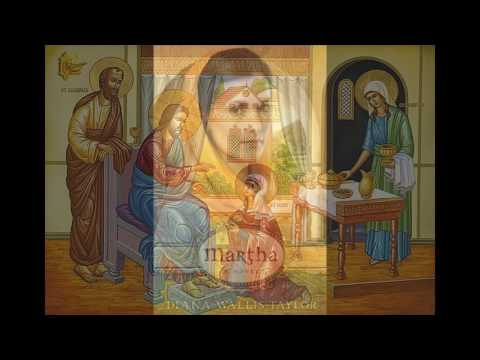 Martha , Lazarus , Mary of bethany