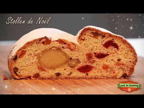 ❅-recette-du-stollen-de-noël-:-le-pain-allemand-aux-fruits-secs,-fruits-confits-et-pâte-d'amande-❅