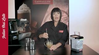 Making Hot Drinks With Cappuccine Frappe Mix - Basic Recipe & Customizing