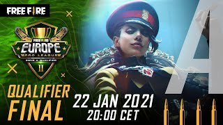 Free Fire Europe Road to Pro League Season 2 - Zone A Qualifier Final