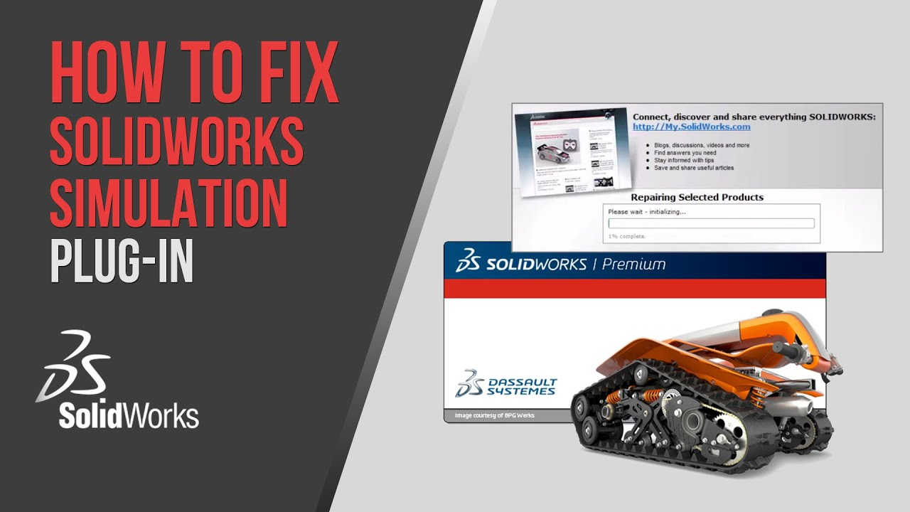 How To Fix Solidworks Simulation Plug-in (missing after installing or  upgrading)