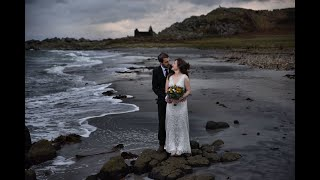 Blissfully romantic elopement in the west coast of Scotland