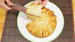 Яблочный пирог | Простой рецепт на кефире