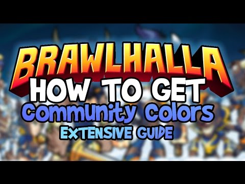 How To Get Community Colors in Brawlhalla! | Guide & Tutorial | How to  Activate? Where to find it?