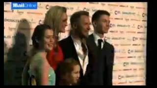Ronan Keating looks swish at red carpet event