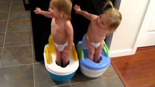 The Twins Potty Dance