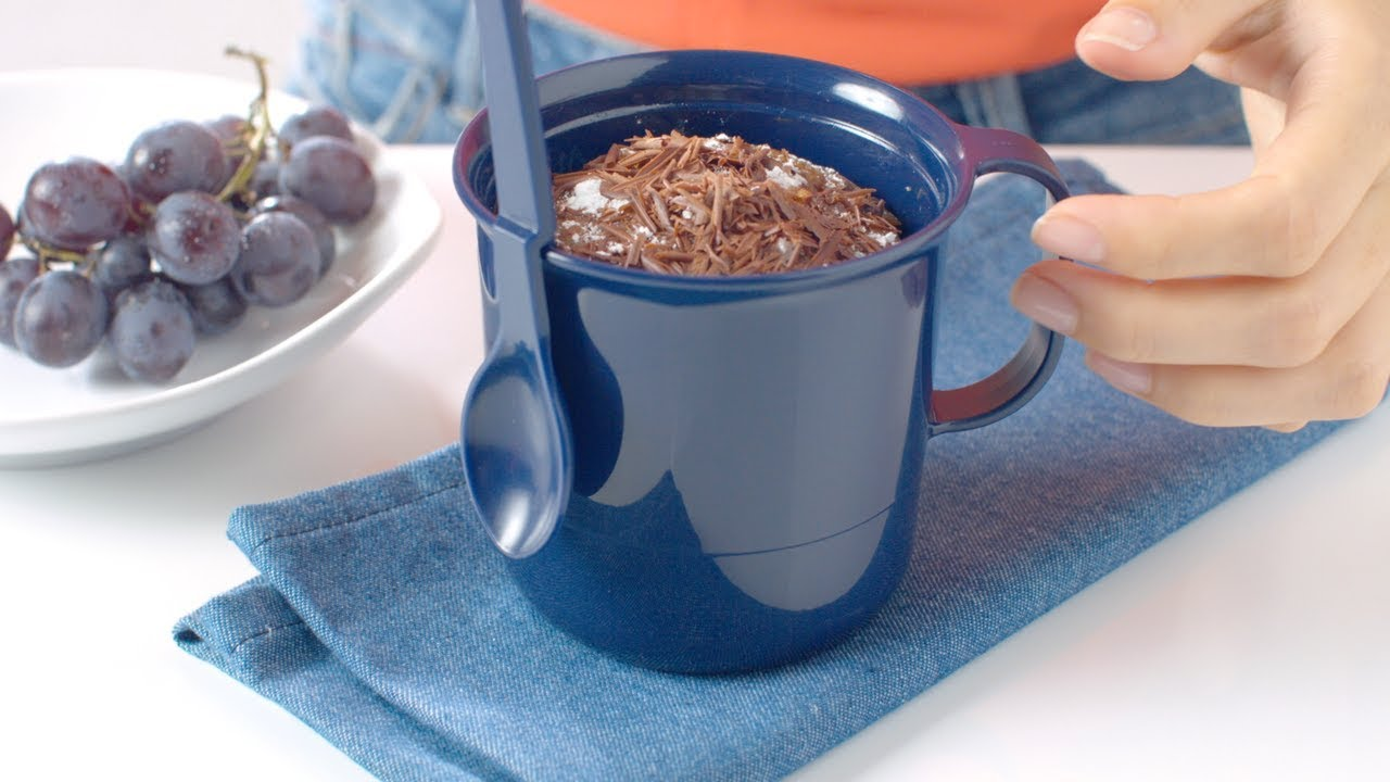 Tupperware recette carrot cake minute au micro mug cake for Mug isotherme micro ondable