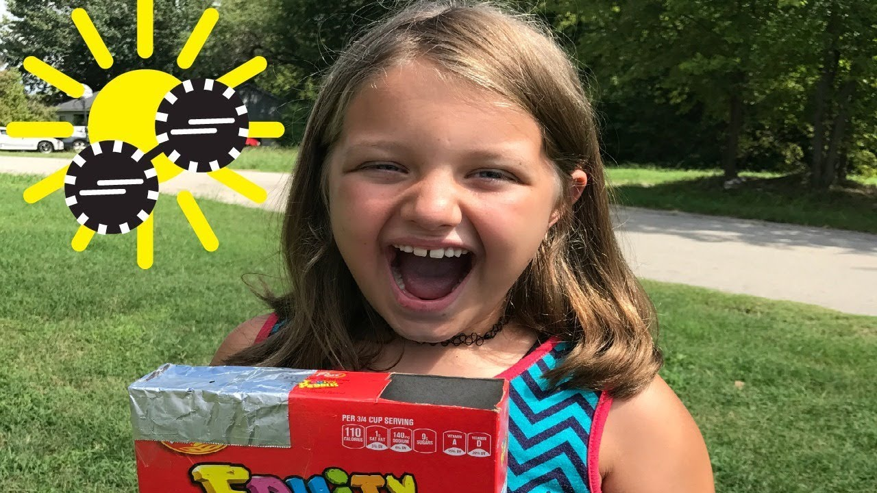 how to make solar eclipse viewer cereal box