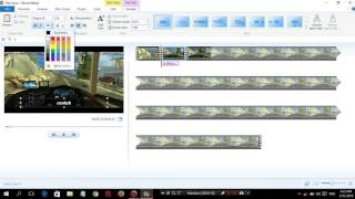 Tutorial memotong video menggunakan  MOVIE MAKER