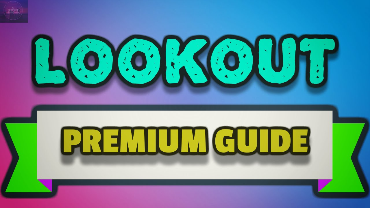 Lookout - Tips and Tricks to get Free Premium - Using Reward Apps !