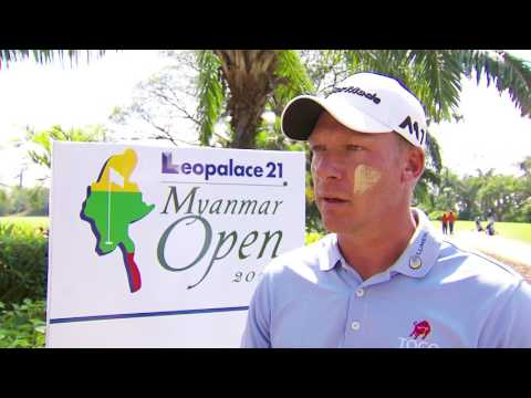 2017 Leopalace21 Myanmar Open preview interview - Shaun Norris