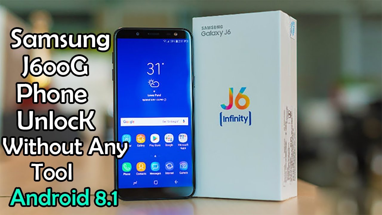 Samsung j600G Phone Unlock pattern unlock pin unlock