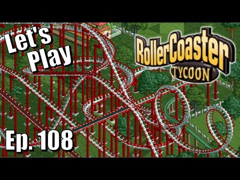 | Let's Play | RollerCoaster Tycoon - Hazardous Hedges & Gamma Rays & Meltdowns, Oh My! (Ep. 108)