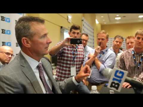 Urban Meyer talked to Penn State coach James Franklin about alleged negative recruiting