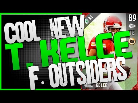 TRAVIS KELCE 89 OVERALL FOOTBALL OUTSIDERS!! GOOD BUDGET OLB TO STUFF THE RUN IN MADDEN 17!!