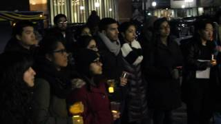 Vigil for Victims of Hate Crimes