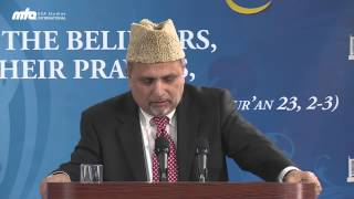 Spiritual Entropy - Jalsa Salana USA West Coat 2013 by Dr. Nasim Rehmatullah