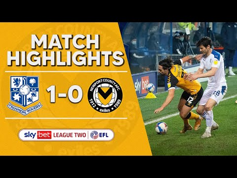 Tranmere Newport Goals And Highlights