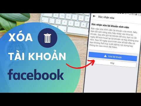 Cách xóa tài khoản Facebook trên điện thoại | Đào Hữu Tựa