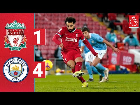Highlights: Liverpool 1-4 Manchester City   Reds beaten at Anfield