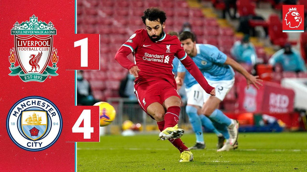 Download Highlights: Liverpool 1-4 Manchester City | Reds beaten at Anfield