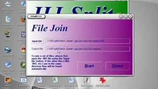 Unir archivos con HJSPLIT