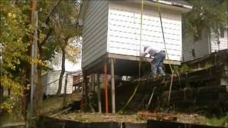 """A  """"carpenter's Fun Day On The Job"""" --with A 85 Ton Crane"""