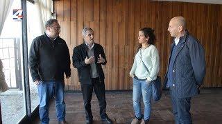 Presidente de ANDE se reunió con Caraballo y visitó predio de la exfábrica Paylana