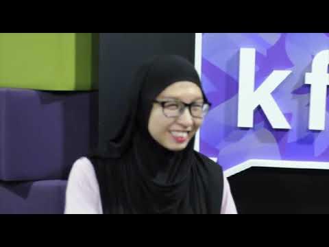 Recording for Brunei Wedding Celebration 2019 Radio Ads @ Kristal FM