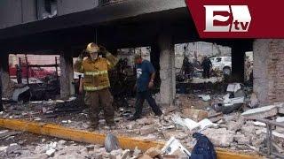 Velan cuerpo de mujer fallecida en explosión de Piedras Negras  / Paola Virrueta