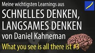 Daniel Kahneman - Schnelles Denken langsames Denken #03 WYSIATI