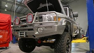 Building the Map Patrol - 4x4 Accessories | Modified LandCruiser 79 Dual Cab