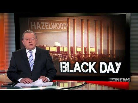 Hazelwood Power Station Closure, Compilation, 03/11/2016