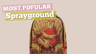 sprayground backpacks for men most popular 2017