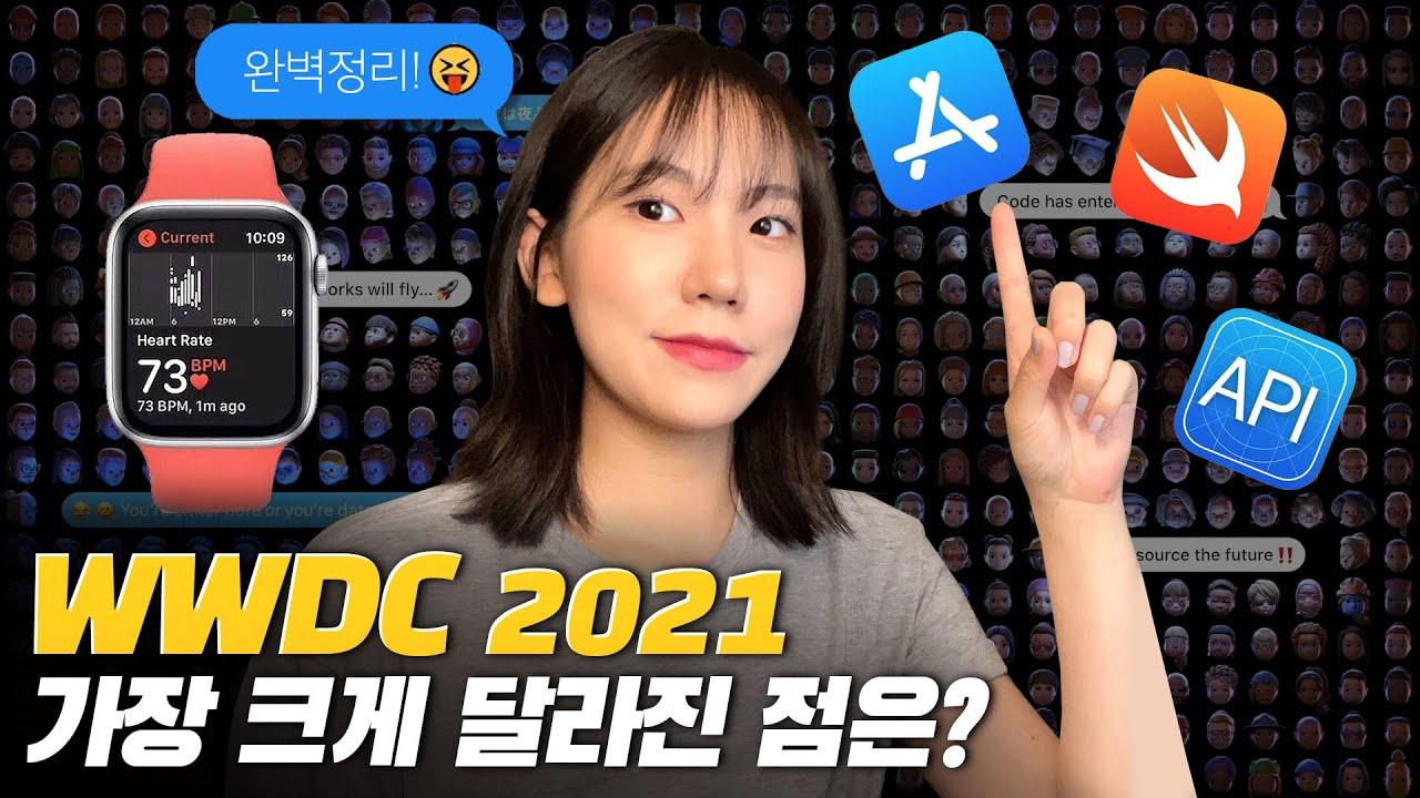 WWDC 2021 총 정리🍎 가장 크게 달라진 점은? 아이패드, 애플워치, 아이맥, 아이폰, 애플